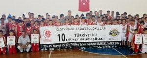 12 Dev Adam Basketbol Okulu Türkiye Finallerine 4...