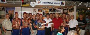 Antalya Karamanlilar Derneginden KGRT'ye Tesekkür