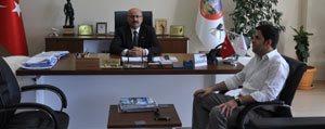 Kaymakam Ilhan'dan Belediye Baskani Samur'a Iade-I...