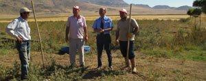 Öztiryaki, Çiftçiyi Ayaginda Ziyaret Ediyor