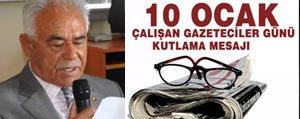 Bastug Çalisan Gazeteciler Gününü Kutladi