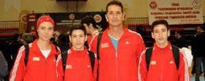 Karaman'dan Milli Takima Bir Sporcu Daha