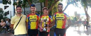 Bisiklette 6 Sporcu Olimpiyat Kamplarinda