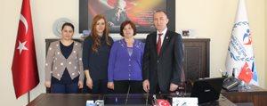KGRT'den Spor Il Müdürü Turan'a Ziyaret