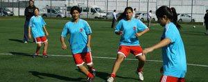 Karaman'da Bayan Futbol Takimi Kuruldu