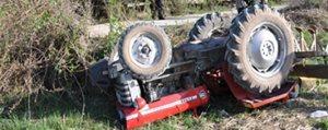 Traktör Kazasi: 1 Yarali