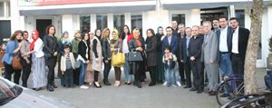 Bizbize Karaman'dan Gönüllülere Jest