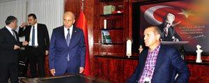 Basbakan Erdogan'dan Belediyeye Ziyaret