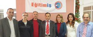 Egitim-Is'in Yeni Baskani Isa Çetin Oldu
