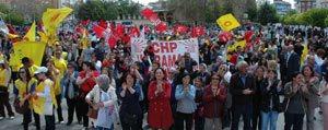 Karaman`da 1 Mayis Kutlamalari Olaysiz Sona Erdi