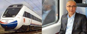 Elvan: `Istanbul Ankara Hizli Treni Mayis Sonunda...