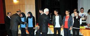 Bilgi Yarismasinin Galibi Toki Anadolu Lisesi Oldu...