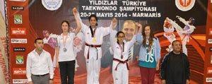 Taekwondo'dan 1 Altin 1 Gümüs