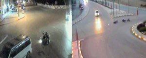 Motosiklet Kazalari Mobese Kamerasina Yansidi