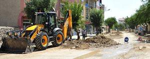 Belediyeden Mara Yolu'nda Hummali Çalisma