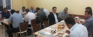 Baskan Samur, Belediye Meclis Üyelerine Iftar Verdi