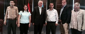 "Gazeteciler Sorularini Yanitlayan Yigit: ""Devlet..."