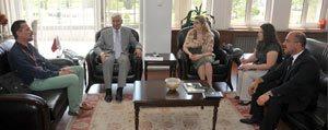AGIT Seçim Gözlemcilerinden Vali Koca'ya Ziyaret