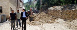 Ermenek'te Çalismalar Sürüyor
