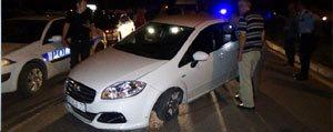 Polisten Kaçarken Kaza Yapti