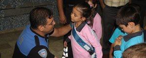 Karaman Polisi 150 Ögrenciyi Sevindirdi