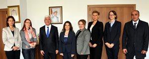 Polonya Bölgesel Yönetimi`nden Vali Koca`ya Ziyaret...
