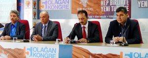 Karaman AK parti'de 5. Olagan kongre süreci basladi...