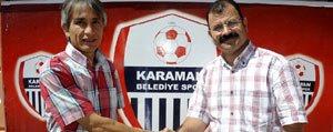 Karaman Belediye Spor Selçuklu Belediyespor'u Agirliyor...
