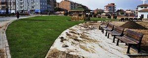 Stadyumun Çimleri Piri Reis Parkina Seriliyor