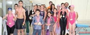 Cumhuriyet Kupasi Yüzme Yarislari Yapildi