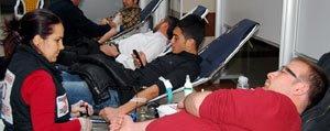 KMÜ'de Kan Bagisi Kampanyasi