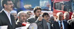 Karaman'dan Suriye'ye Un Yardimi