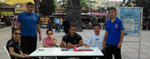 Karaman'da Yaz Spor Okullari Tanitimi Devam Ediyor...