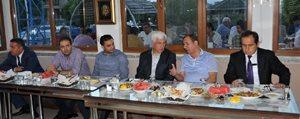 OSB Müdürlügünden Iftar Yemegi