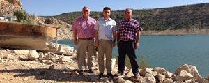 Keskin, Gödet Baraji Alabalik Tesislerini Inceledi