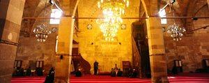 Karaman`da Ulu Caminin Mihrabi Ahsap Olacak