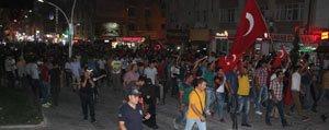 Karaman'da Sehitler Için Yürüyüs
