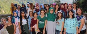 Karamanli Gençler Trabzon'u Gezdi