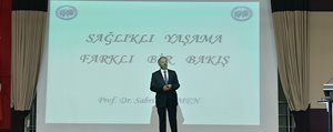 KMÜ Rektörü Prof. Dr. Sabri Gökmen Saglikli Yasam...