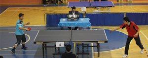 Gençler Masa Tenisi Müsabakalari Devam Ediyor