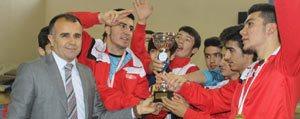 Futsalda Il Birincileri Kupasini Sultanoglu'ndan...