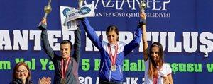Karamanli Atlet Gaziantep'te Rüzgâr Gibi Esti