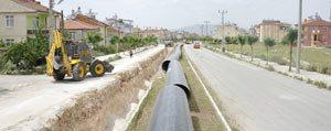 Belediye'den 2015 Yilinda Alt Yapida Rekor Çalisma