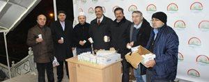 Mevlit Kandilinde 2 Bin 500 Kisiye Süt Ikrami