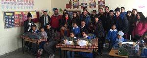 KMÜ Ögrencilerinden Köy Okuluna Ziyaret