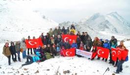 KARDOF Karadağ'da Şehitlerimize Selam Durdu