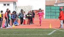 Küçükler Puanlı Atletizm Yarışları Sona Erdi