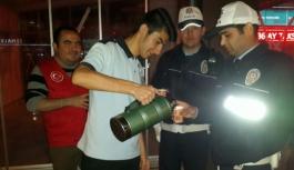 Gençlik Merkezi'nin Çay İkramı Polislerin İçini Isıttı