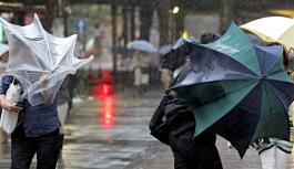 Karaman Ve Bölgesi İçin Kuvvetli Rüzgar Ve Yağış...