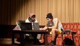 KMÜ'de Tiyatro Gösterisi Düzenlendi